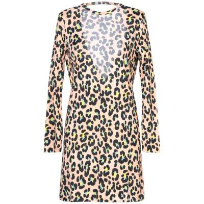 ジャッカ JUCCA ミニワンピース&ドレス あんず色 38 レーヨン 100% ミニワンピース&ドレス