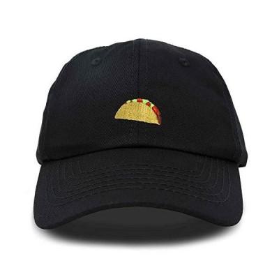 DALIX Taco Dad Hat男性用キャップ男性用キャップEmoji Caps Black