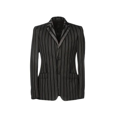 アレキサンダー マックイーン ALEXANDER MCQUEEN テーラードジャケット ブラック 50 ウール 100% / キュプラ テーラードジ