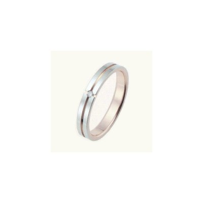 結婚指輪 ペアリング 安い ホワイトゴールド ピンクゴールド クロススター ダイヤモンド 鍛造 1本販売 マリッジリング K10 筆記体日本語刻印無料