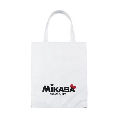 ミカサ(MIKASA) ハローキティ レジャーバッグ ワンポイントロゴ 白 BA21-KT2-W 鞄 小物入れ アウトドア カジュアルバッグ