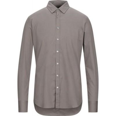 ハマキホ HAMAKI-HO メンズ シャツ トップス Solid Color Shirt Khaki