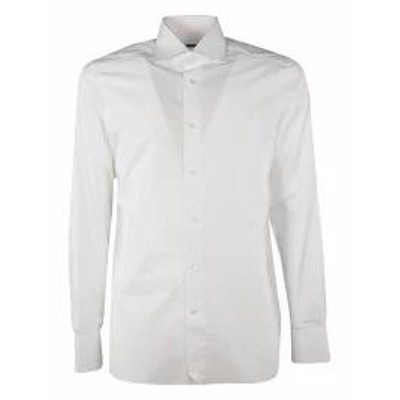 Ermenegildo Zegna メンズシャツ Ermenegildo Zegna Front Button Shirt 9ms0ba