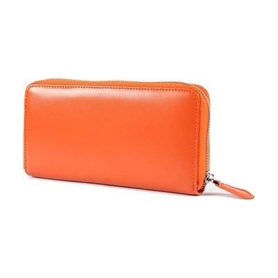 レガーレ 長財布 レディース メンズ コインスルー ギャルソン 財布 カード28枚収納 大きく開いて使いやすい BOX型小銭入れ 8色 (オ