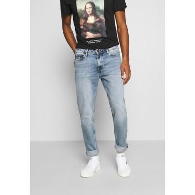 ジャック アンド ジョーンズ デニムパンツ メンズ ボトムス JJICLARK JJORIGINAL - Straight leg jeans - blue denim