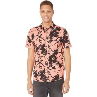 ボルコム Volcom メンズ 半袖シャツ トップス Burres Short Sleeve Shirt Salmon