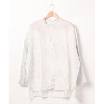 HELIOPOLE / GALLEGO DESPORTES: バンドカラーラージシャツ WOMEN トップス > シャツ/ブラウス