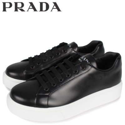 PRADA プラダ スニーカー メンズ NEW SNEAKER FONDO CASSETTA ブラック 黒 4E3489