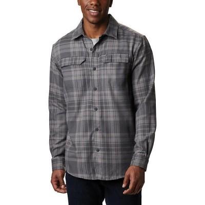【ポイント最大24倍!!】(取寄)コロンビア メンズ シルバー リッジ 2.0 フランネル シャツ Columbia Men's Silver Ridge 2.0 Flannel Shirt Shark Flannel