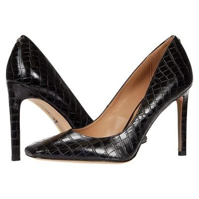 サム エデルマン Beth レディース ヒール パンプス Black Lucea Dress Croco Leather