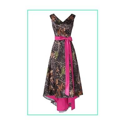 Chupeng Women's Appliques Camouflage Prom Dress Satin Wedding Bridal Dresses Short Homecoming Dress 2020並行輸入品