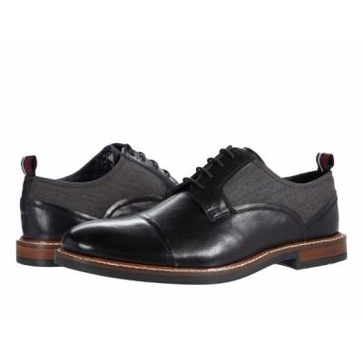 ベンシャーマン オックスフォード シューズ メンズ Birk Cap Toe Black Leather