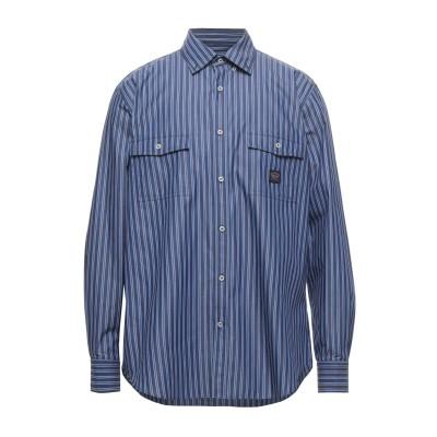 ポール・アンド・シャーク PAUL & SHARK シャツ ブルー 38 コットン 100% シャツ