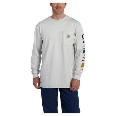 (取寄)カーハート メンズ フレイム レジスタント フォース コットン グラフィック ロングスリーブ Tシャツ Carhartt Men's Flame Resistant Force Cotton G