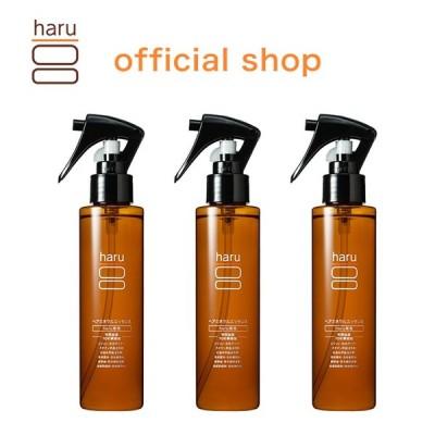 トリートメント(アウトバス) haru  【100%天然由来】 髪の集中美容液 「ヘアミネラルエッセンス 3本セット(25%OFF)」