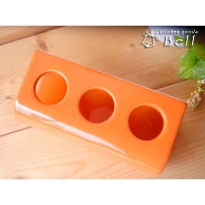 チューブ立て オレンジ わさび立て からし立て 業務用食器