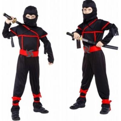 忍者なりきりコスプレ 子供 男の子 忍者 スパイ 仮装 コスチューム ハロウィーン キッズ 子供用 なりきり コスプレ 衣装 ハロウィン 男の