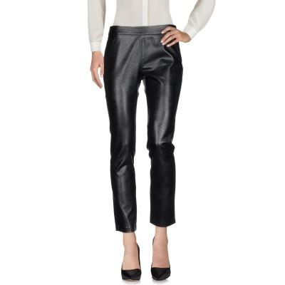 マニラ グレース MANILA GRACE パンツ ブラック 38 ポリエステル 100% / ポリウレタン パンツ