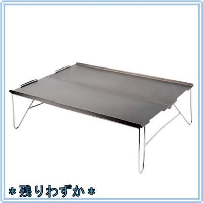 Zoarlan アウトドアテーブル ミニテーブル アルミ製 ソロキャンプに最適 軽量 組立簡単 収納袋が付き