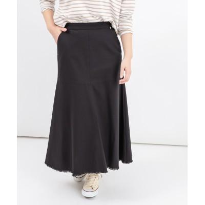 《セットアップ推奨》裾フリンジスカート