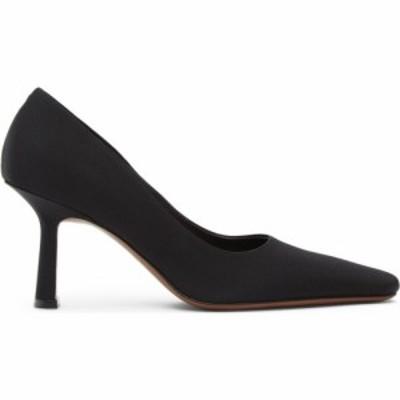 ネオアス NEOUS レディース ヒール シューズ・靴 Black Grosgrain Doritis 80 Heels Black