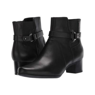 クラークス Clarks レディース ブーツ シューズ・靴 Un Damson Mid Black Leather