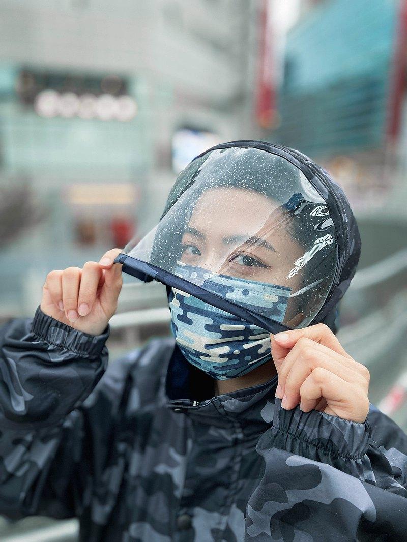 現貨充足-多功能防護連帽外套(男女共款)隔離衣布料使用