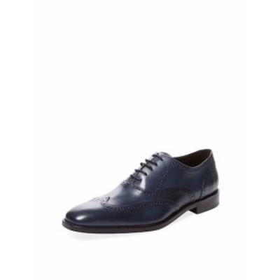 マルコヴィットリオ メンズ シューズ オックスフォード 革靴 Wingtip Leather Oxford
