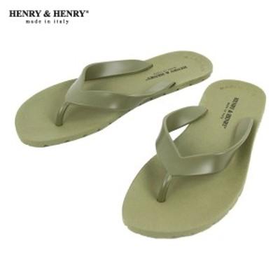 ヘンリーアンドヘンリー HENRY&HENRY 正規販売店 サンダル フリッパー FRIPPER SANDAL VERDE(KAHKI) 51