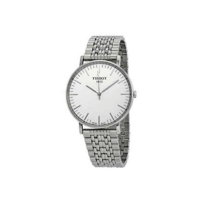 腕時計 ティソット メンズ Tissot Everytime Silver Dial Men's Watch T1096101103100
