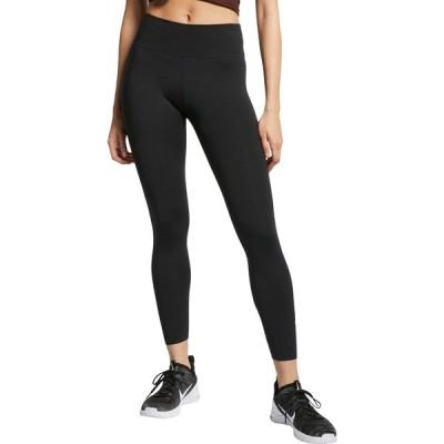 ナイキ カジュアルパンツ ボトムス レディース Nike One Women's Luxe Mid-Rise 7/8 Tights Black
