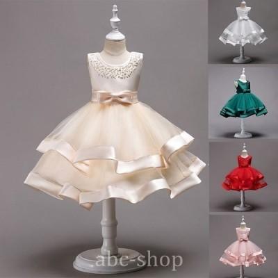 ワンピースフォーマルドレス女の子結婚式ドレス子供ジュニアワンピース子供ドレスキッズドレスピアノ発表会安い