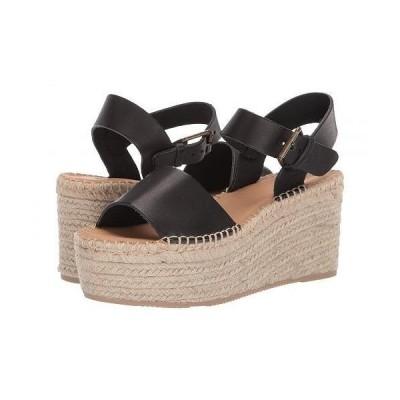 Soludos ソルドス レディース 女性用 シューズ 靴 ヒール Minorca Platform - Black
