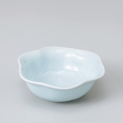和食器 青磁花型 小鉢 ボウル カフェ 食器 陶器 おうち おしゃれ プチ ミニ 日本製