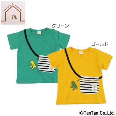 2点以上購入で10%OFF対象商品 半袖Tシャツ 恐竜柄 子供服 男の子 ベビー キッズ 通園 ネコポス便OK 2002 C