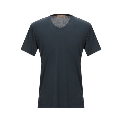 ダニエル フィエゾーリ DANIELE FIESOLI T シャツ スチールグレー XL コットン 100% T シャツ