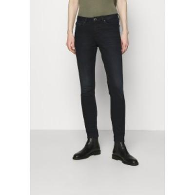 オーパス レディース デニムパンツ ボトムス ELMA - Slim fit jeans - blueblack blueblack