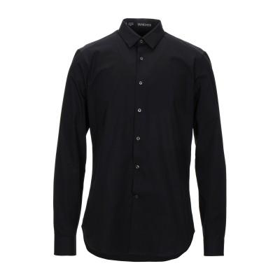 VANGHER N.7 シャツ ブラック 39 コットン 100% シャツ