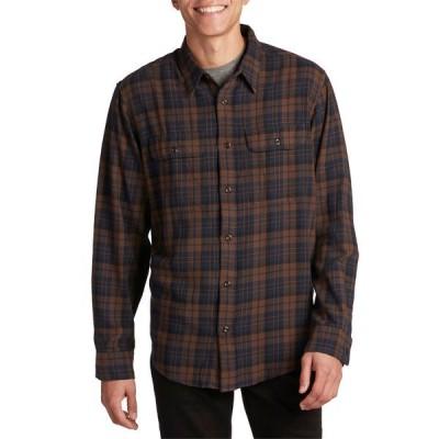 フィルソン メンズ シャツ トップス Filson Scout Shirt Brown/Navy/Black Plaid