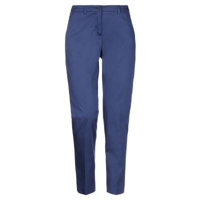 SEVENTY SERGIO TEGON パンツ ブルー 50 コットン 96% / ポリウレタン 4% パンツ