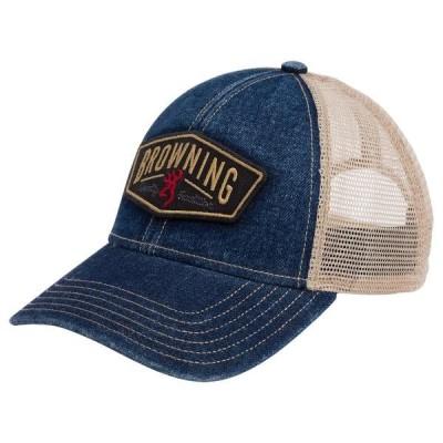 ブロウニング 帽子 アクセサリー メンズ Browning Men's Slack Denim Snapback Hat Denim