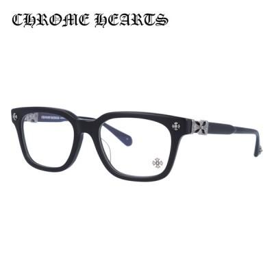 クロムハーツ メガネ フレーム Chrome Hearts メンズ レディース 度付き 度あり レギュラーフィット COX UCKER MBK 52