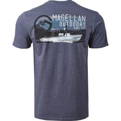 マジェランアウトドア Tシャツ メンズ Navy