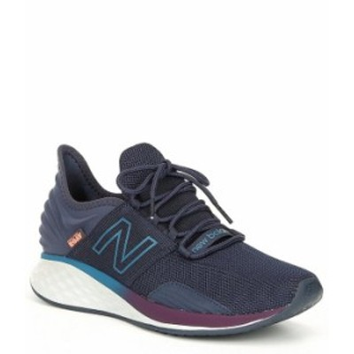 ニューバランス メンズ スニーカー シューズ Men's Roav V1 Textile Running Shoe Navy/Dark Neptune