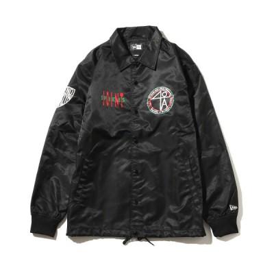 ニューエラ NEW ERA ジャケット コーチジャケット フォーティーエーカーズ マルチロゴ (BLACK) 17FA-I