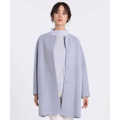 I.T.'S. international / イッツインターナショナル ノーカラーコート《Super110's Wool》