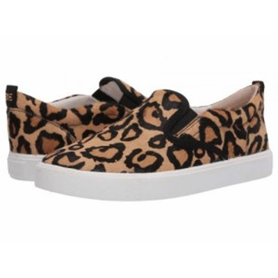 Sam Edelman サムエデルマン レディース 女性用 シューズ 靴 スニーカー 運動靴 Edna New Nude Leopard Brahma Hair【送料無料】