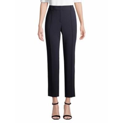 セント ジョン レディース パンツ Crepe Marocain Pintuck Ankle Pant W/ Pockets & Belt Loops