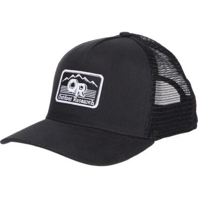 アウトドアリサーチ Outdoor Research メンズ キャップ 帽子 Advocate Trucker Cap Black