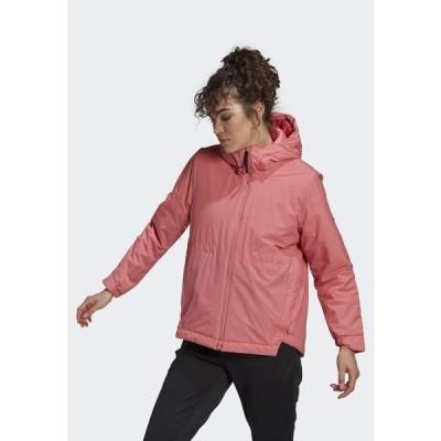 アディダス ジャケット&ブルゾン レディース アウター Winter jacket - pink